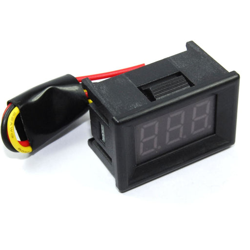 0-99.9V DC Red LED Panel Voltmeter