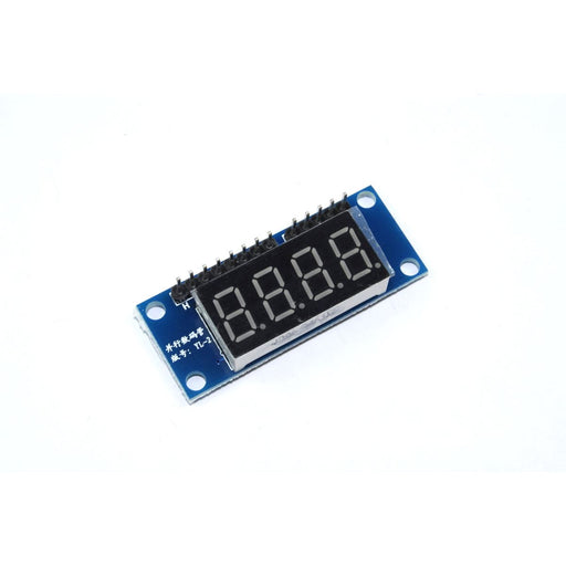 4 Digit Red 7 Segment Parallel LED Module