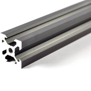 500mm Black Aluminium V Extrusion 2020