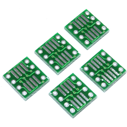 5pcs SOP8/SO/SSOP/MSOP/TSSOP/SOIC to DIP8 Adapter Module SMD Flux Workshop