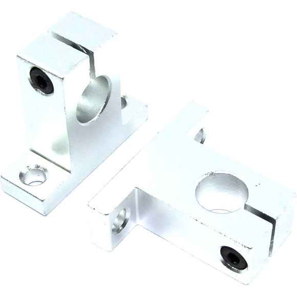 2pcs SK12 Linear Shaft Support