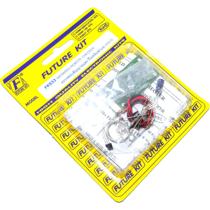 Future Kit Infrared Remote Tester DIY Kit
