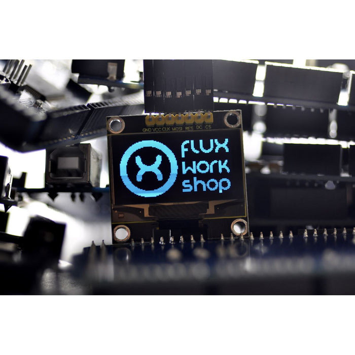 "Keyestudio 1.3"" 128x64 Blue OLED Display Module"