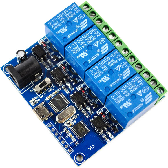 LC Technology USB 4 ch. Relay Module