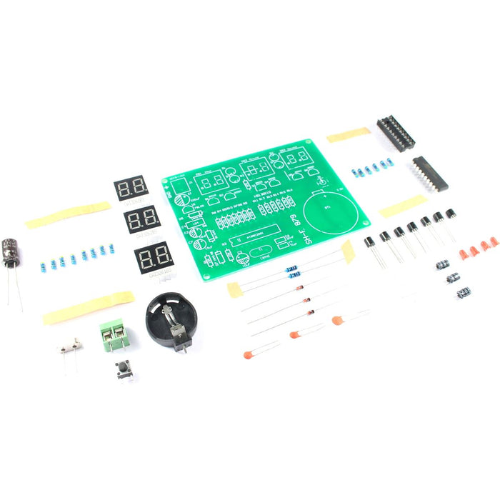 AT89C2051 6 Digit LED Clock DIY Kit