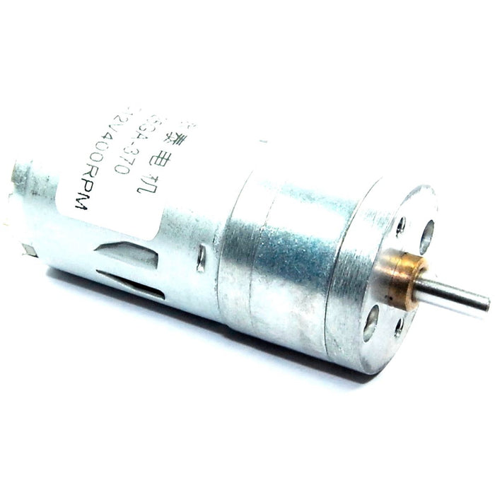 400RPM Geared 12V DC Motor