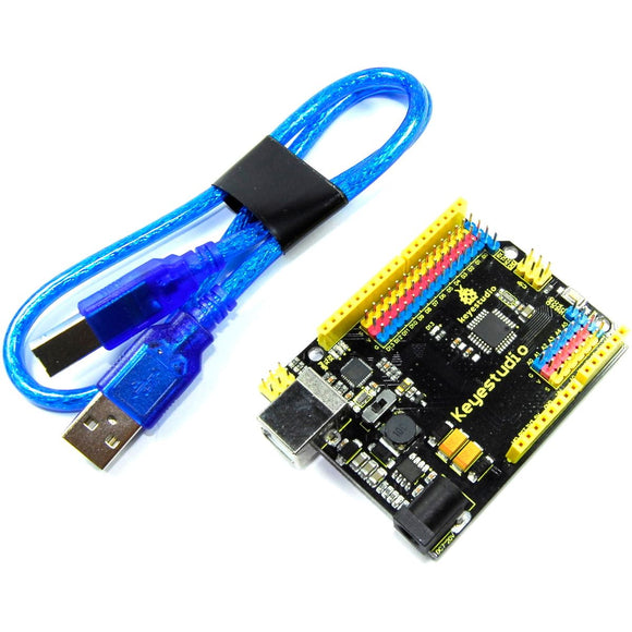 Keyestudio ATmega328P Board KS0172 16 (Arduino-Compatible) Flux Workshop
