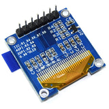 "0.96"" 128x64 White OLED Display Module"