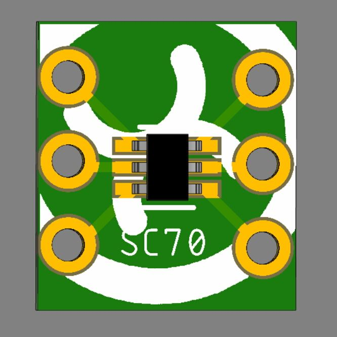 5pcs Flux Workshop SOT23 SC70 Chipset Breakout Adapter Board