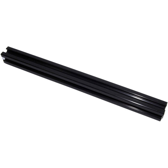 500mm Black 2020 Aluminium Extrusion