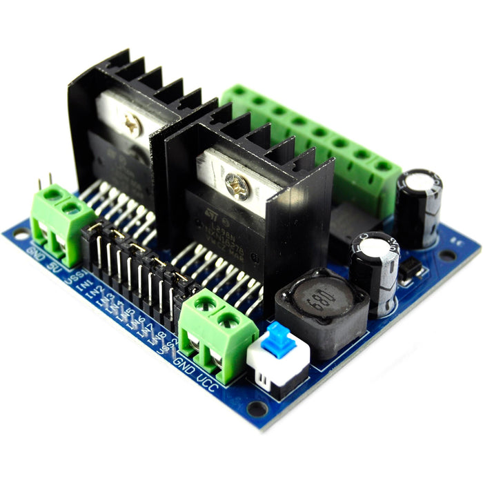 LC Technology L298N Twin Dual H-Bridge Motor Driver Module