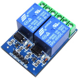 LC Technology 5V 2 ch. Relay Module