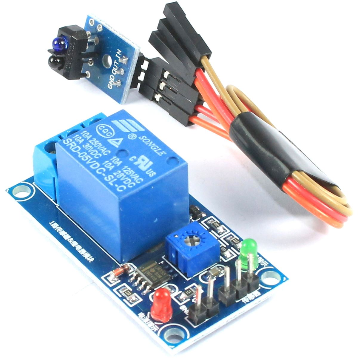 5V Infrared Reflection Sensor Relay Module