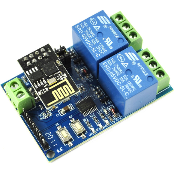 LC Technology 5V 2 ch. ESP8266 WIFI Relay Module