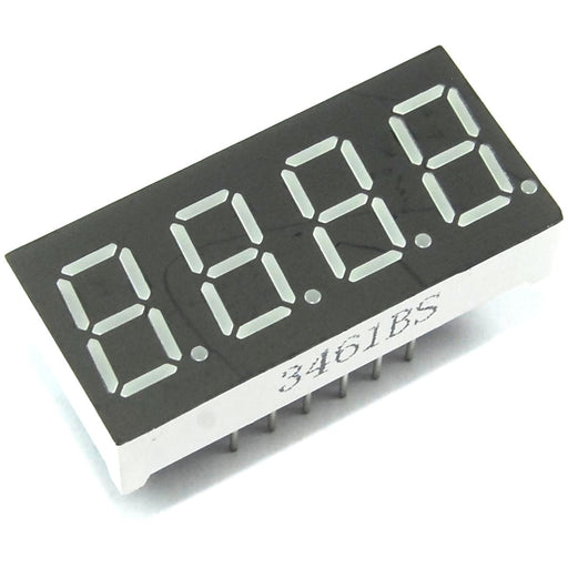 "0.36"" 4 Digit Seven Segment Red LED Display"