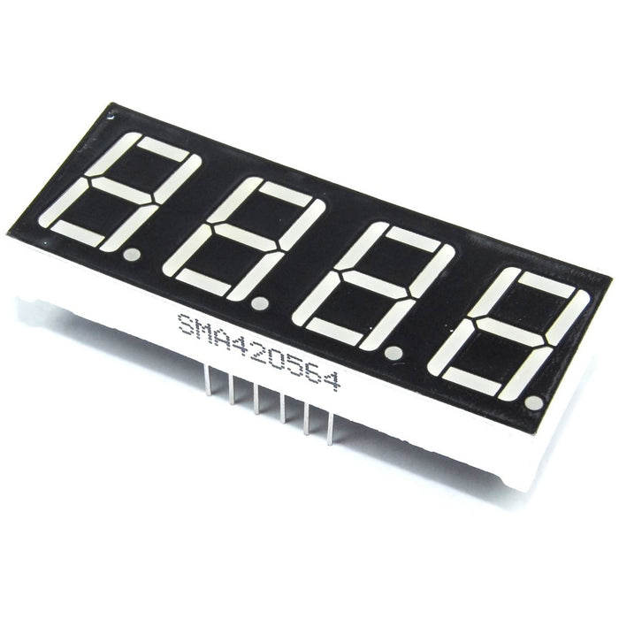 "0.56"" 4 Digit Seven Segment Red LED Display"