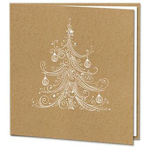 Kraft Christmas Card