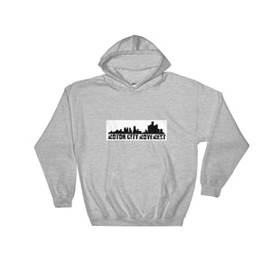 'Motor City Movement' Hooded Sweatshirt