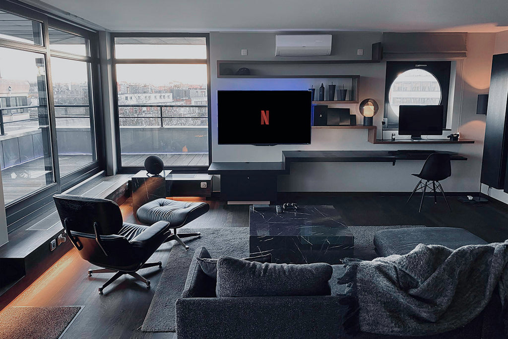 Blvck Penthouse Living Room