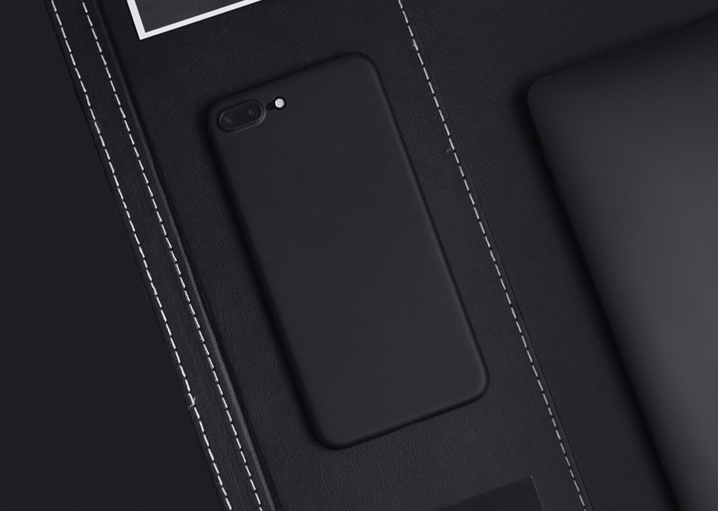 Blvck matte black iPhone case