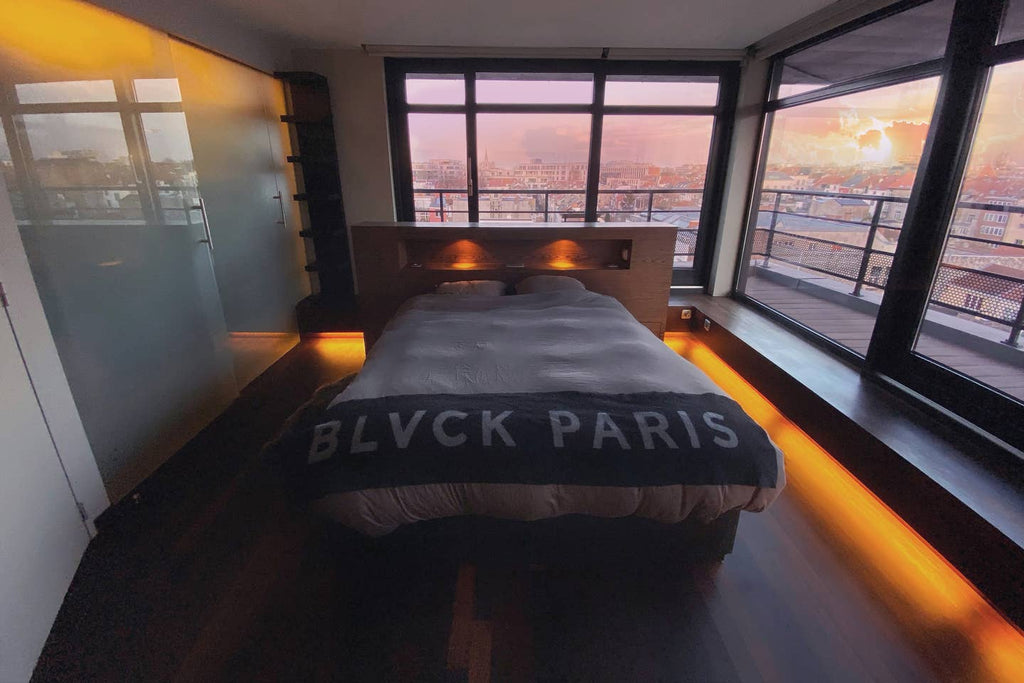 Blvck Penthouse Master Bedroom