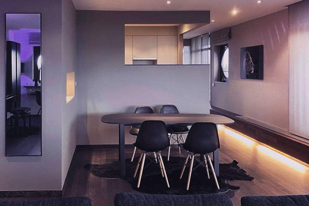 Blvck penthouse Dining Area