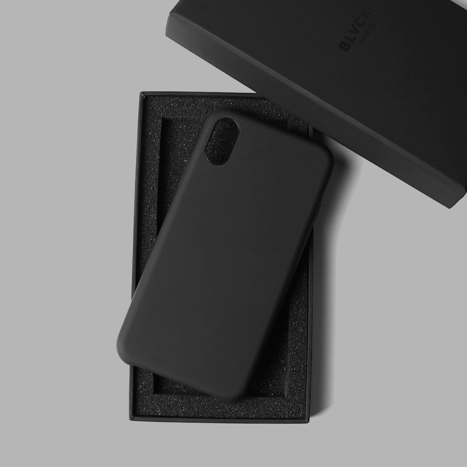 Matte Black iPhone Case