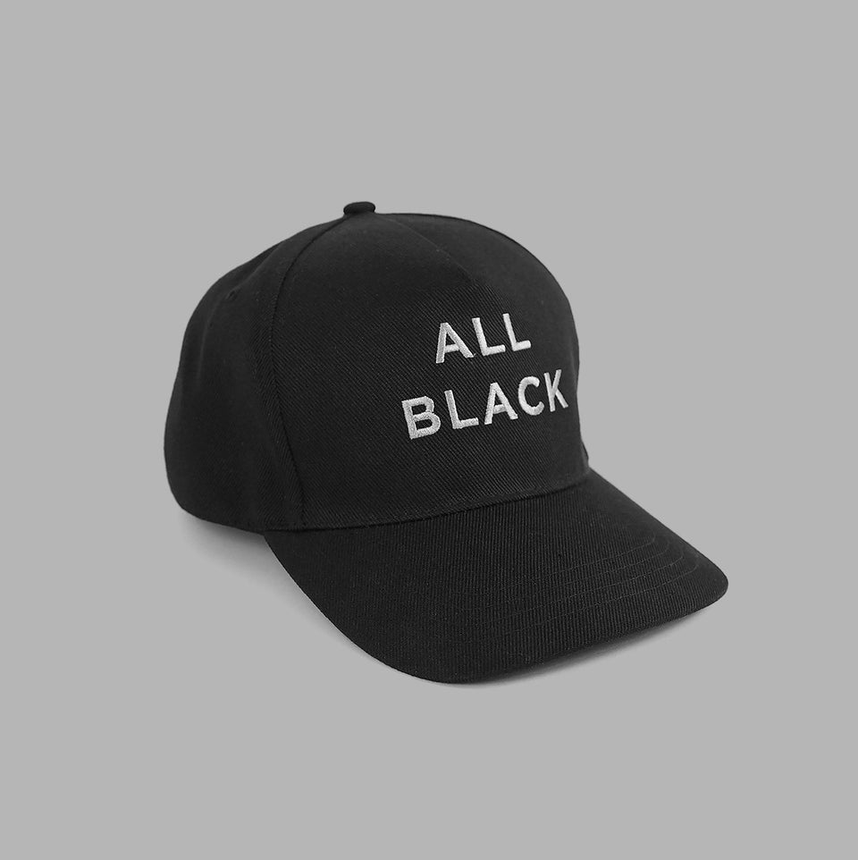 'ALL BLACK' Cap