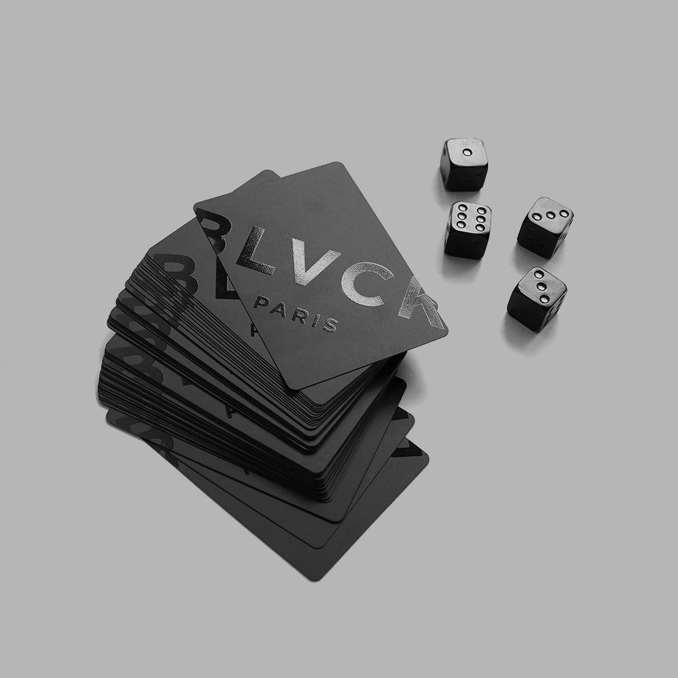 Blvck Playing Cards