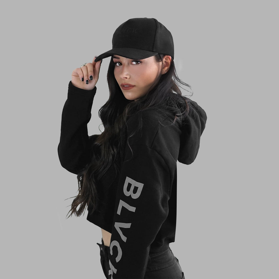 Signature Blvck Hoodie (Cropped)