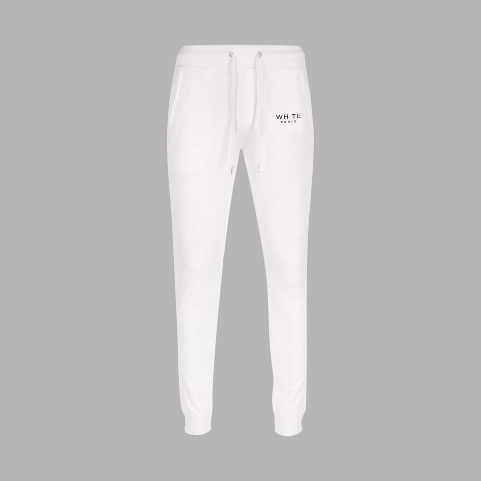 Whte Signature Sweatpants