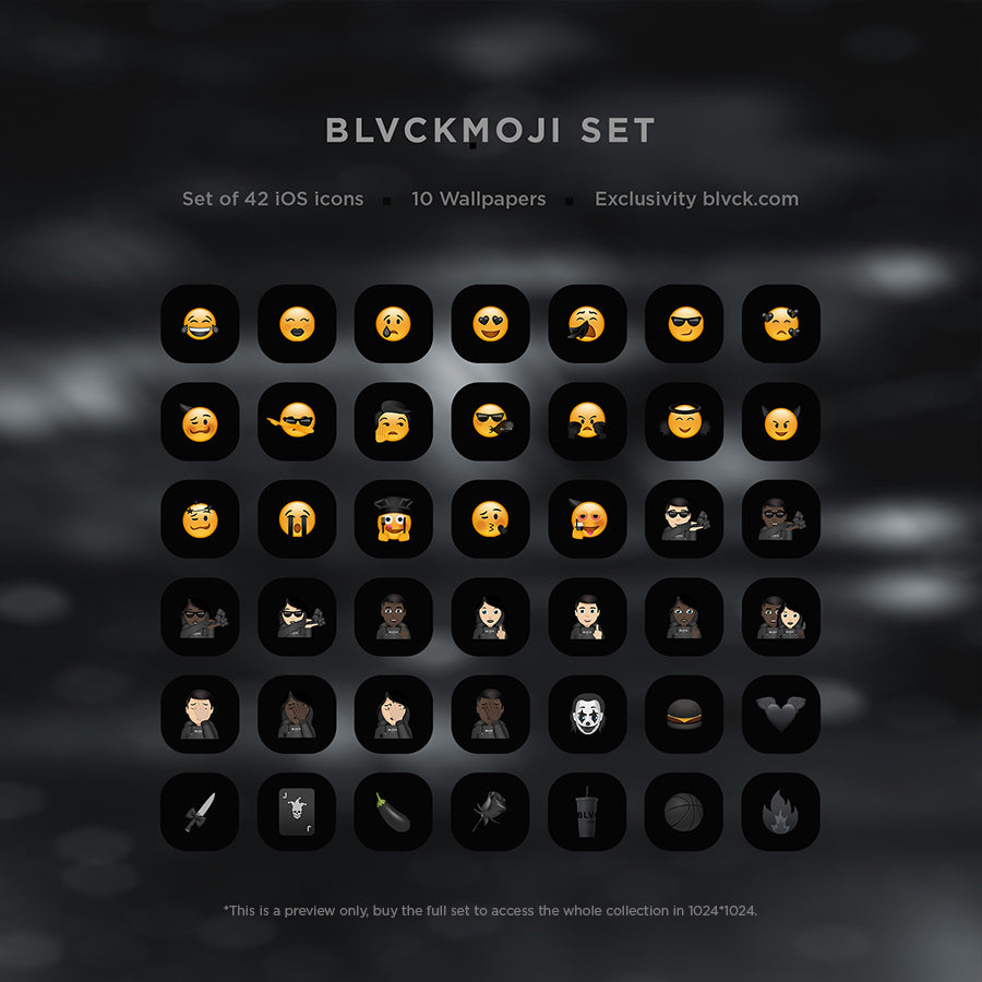 Blvck iOS14 Icons Set