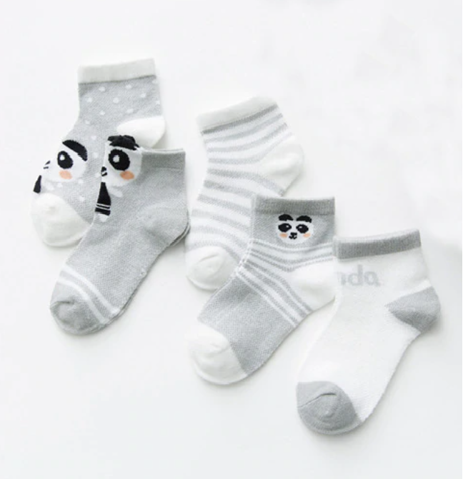 Chaussettes Ours gris Assorties