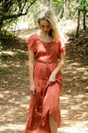 Soraya Dress - Marsala Pink