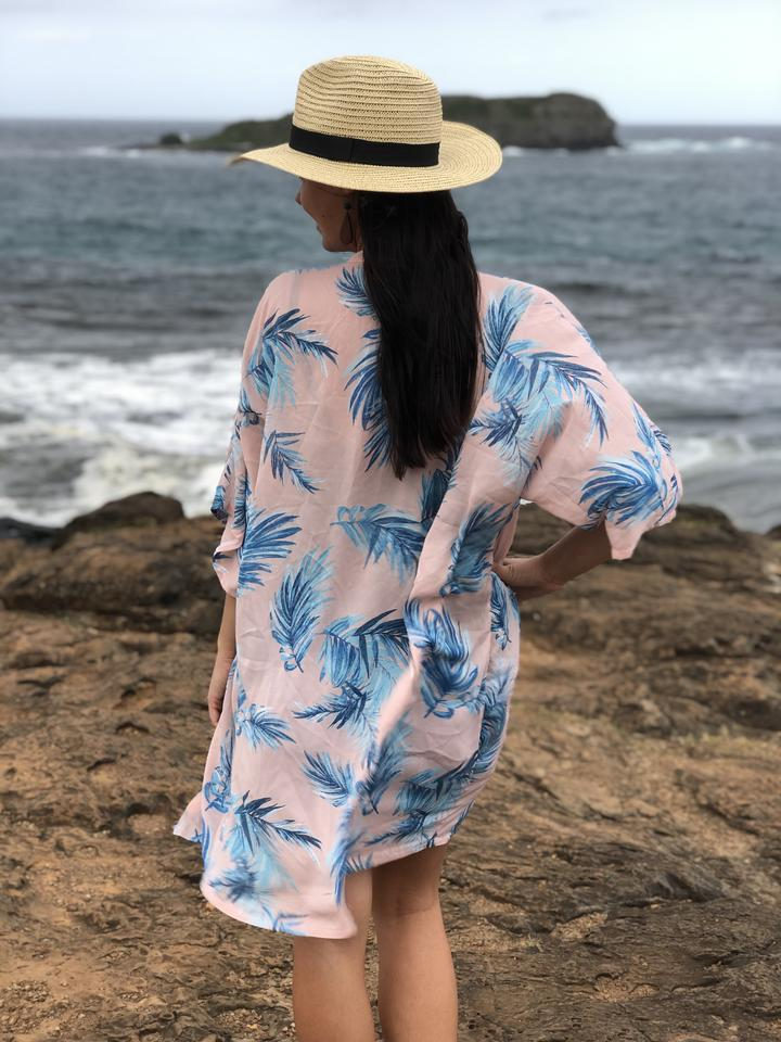 'Palm Springs Party' Kimono