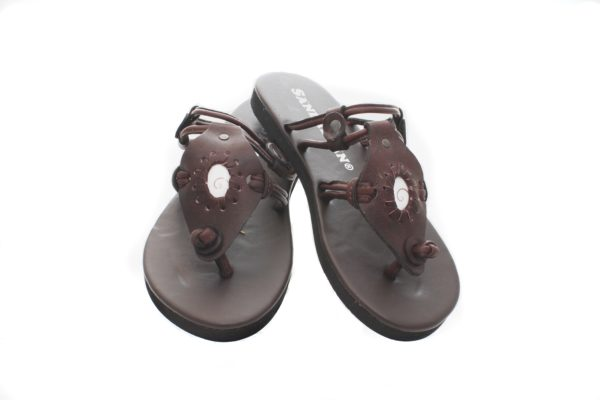Buffalo Leather Sandals ~ Zurina