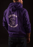 Unicorn Sweatshirt Violet