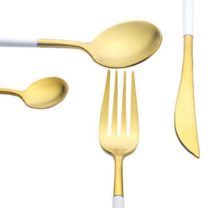 Ferro Aurum White - Cutlery Set