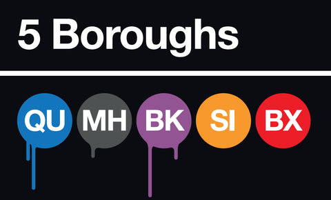 Mat Lazenby - 5 Boroughs