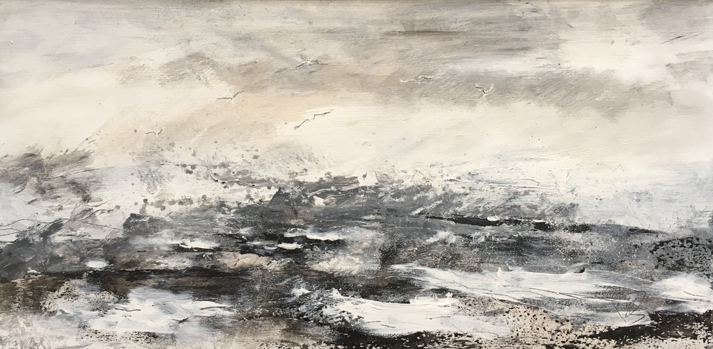 Rough North Sea, Wind over Tide