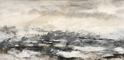 David Baumforth - Rough North Sea, Wind over Tide