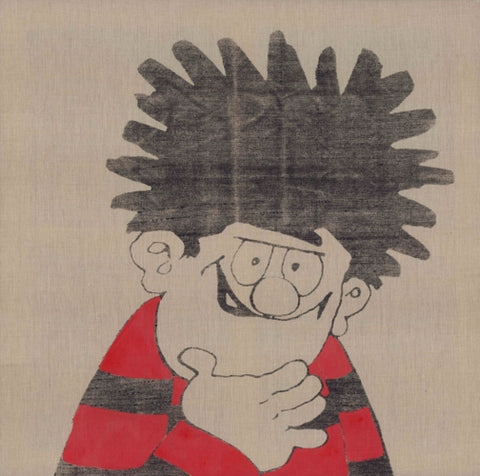 Horace Panter: Beano - Dennis Unprimed (red and black)