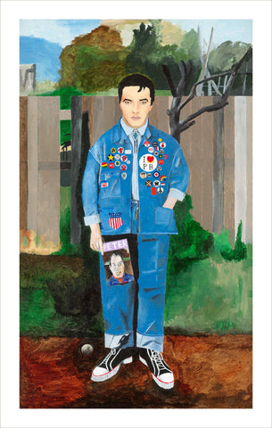 Horace Panter - Elvis with Badges