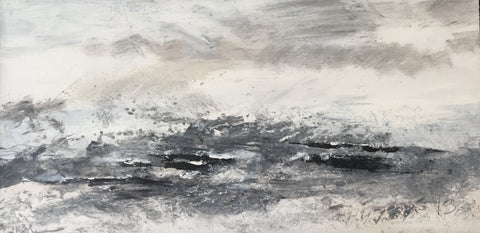 David Baumforth - Rough North Sea wind over tide 'a study'