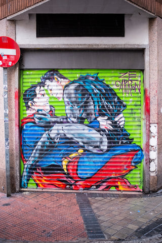 Jim Poyner - Madrid Street Graffiti IIII
