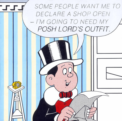 Horace Panter - Posh Lord's Outfit