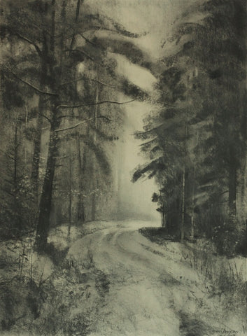 John Creighton - Road through Cropton Forest