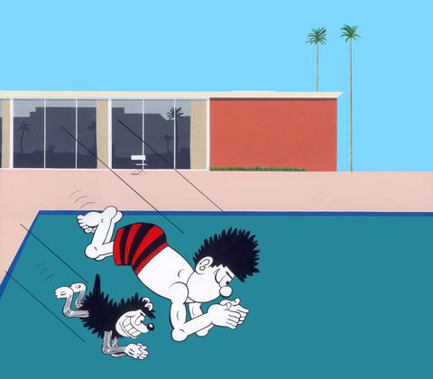 Horace Panter: Beano - Splash