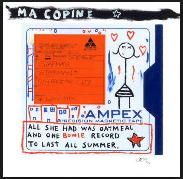 Horace Panter - Master Tape Bowie: Starman