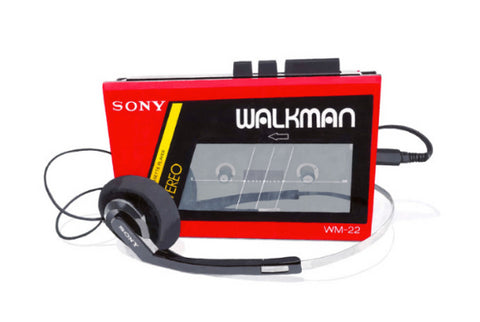 Horace Panter - Sony Walkman Red